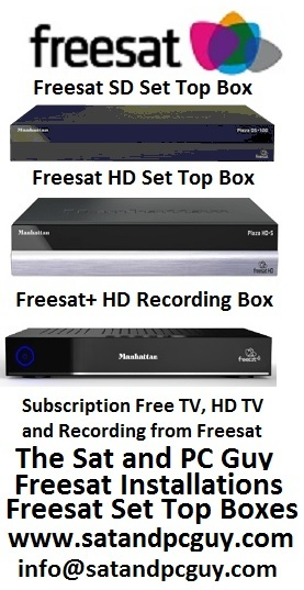 Freesat Digiboxes